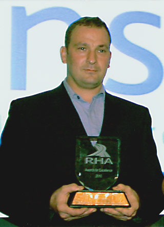 Silver Knight Machine mover contractor of the year