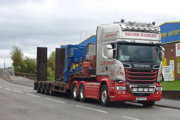 Machinery Haulage, Relocation, Transport & Moving Service