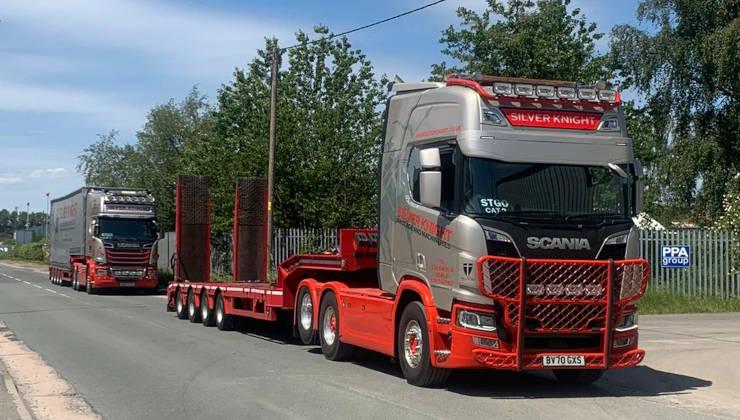Machine Moving Fleet
