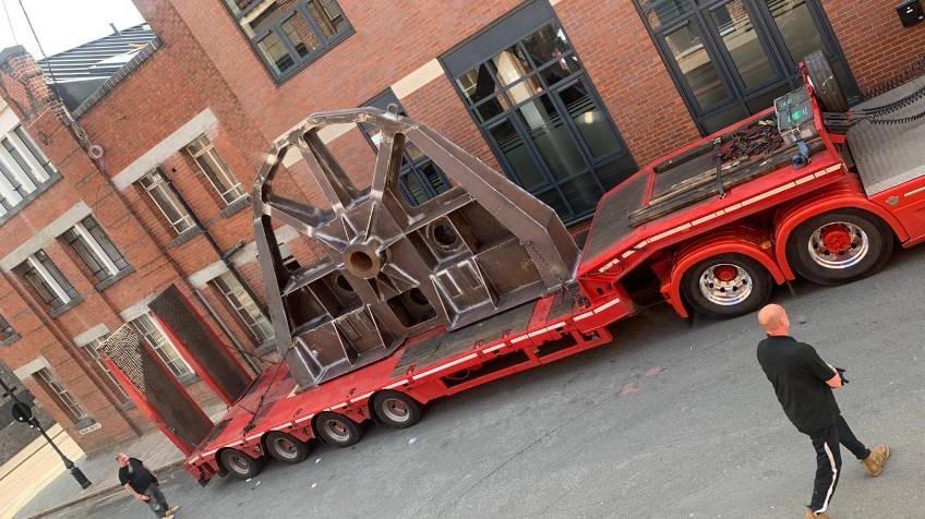 Dedicated Heavy Duty Machine Moving Trailers